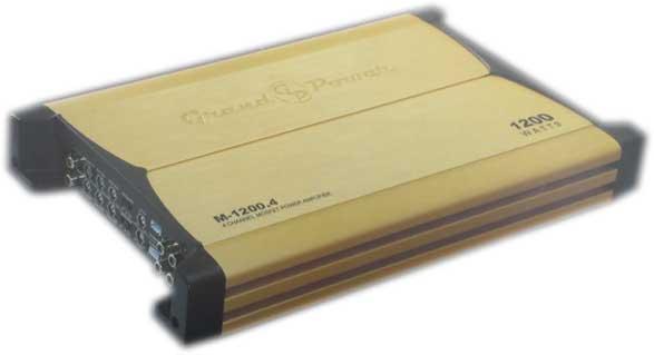 آمپلی فایر گراند پاور 1200 وات 4 کانال ground power