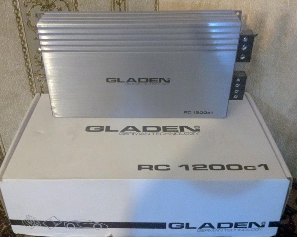 آمپ مونو گلیدن amp mono gladen rc1200c1