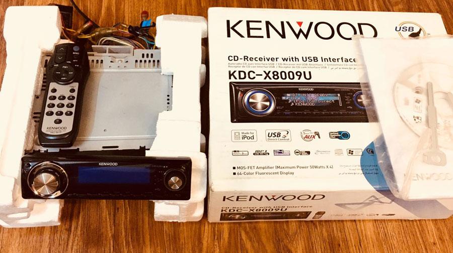 پخش کنوود 8009 - kenwood kdc-x8009u