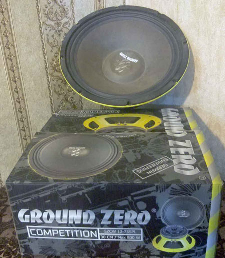 جفت مید بیس 12 اینچ گرند زیرو MIDBASE 12 GROUND ZERO